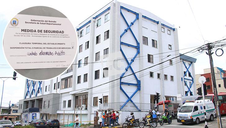 Cierre de La Sagrada Familia deja 12 camas menos para pacientes del departamento