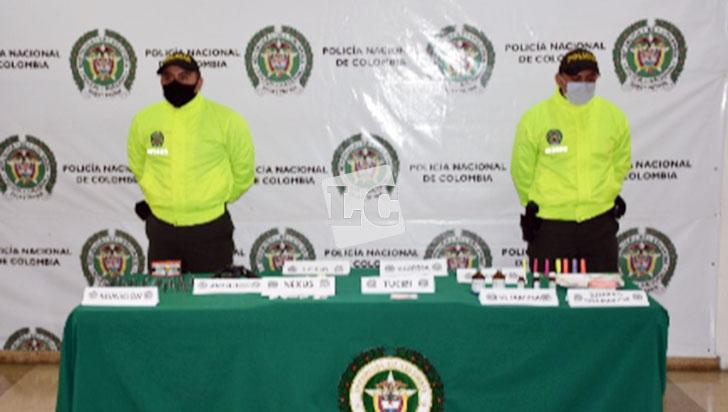 Sijín incautó drogas sintéticas avaluadas en $3 millones