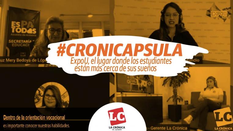 #Cronicápsula | ExpoU, el lugar donde los estudiantes están más cerca de sus sueños