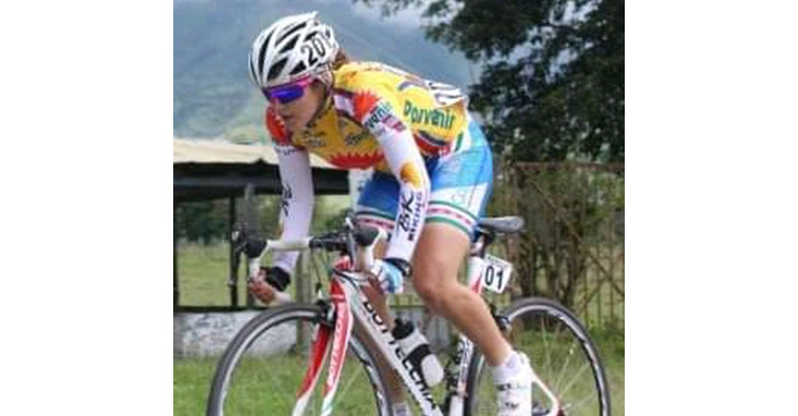 Sérika Gulumá de nuevo representará al Quindío en eventos de ciclismo