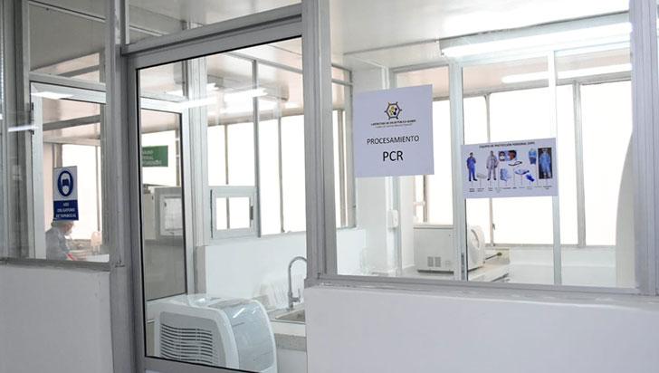 Laboratorio departamental ha hecho 190 pruebas PCR de  Covid-19 hasta el momento