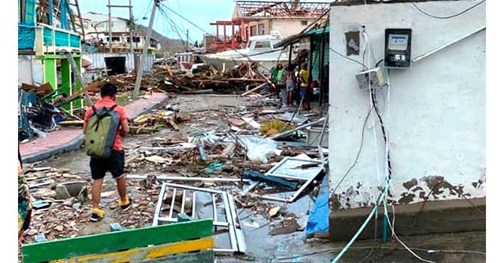 EE.UU. dona 100.000 dólares a Colombia para ayudar a damnificados por Iota