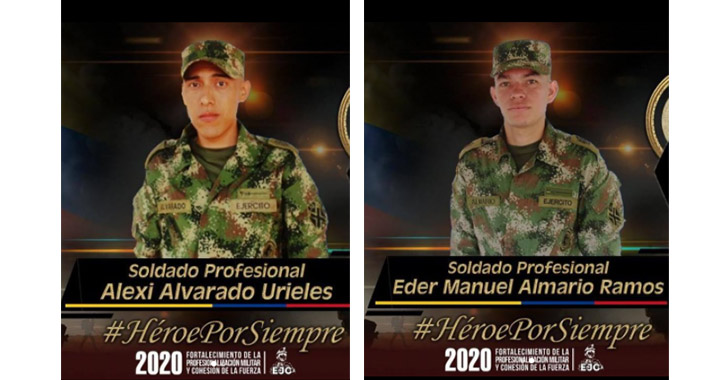 Un ataque armado en Tibú deja 2 soldados muertos y 2 más heridos