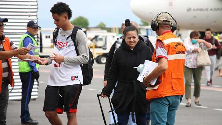 Aún no es obligatoria la prueba PCR para viajeros extranjeros