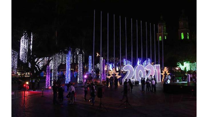 Luces de esperanza ahora brillan  en diferentes sectores de Armenia