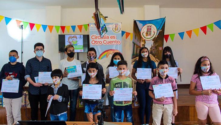 Participantes de la zona rural arrasaron en concurso de cuento de Circasia