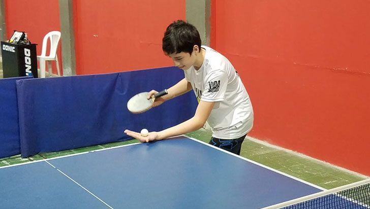 Daniel González, otro exponente del tenis de mesa en el PAD
