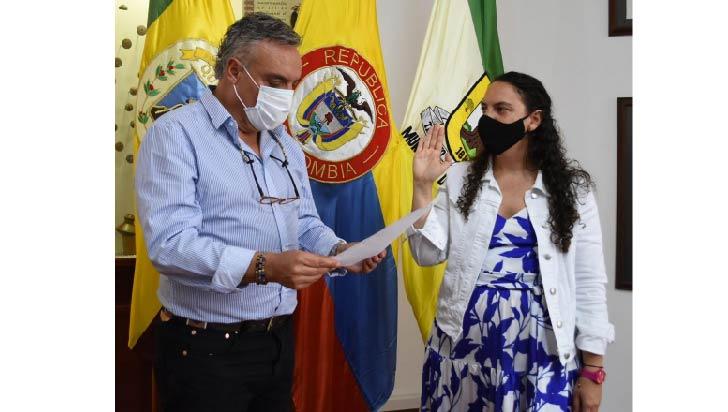 Ximena Escobar nueva secretaria departamental de Cultura