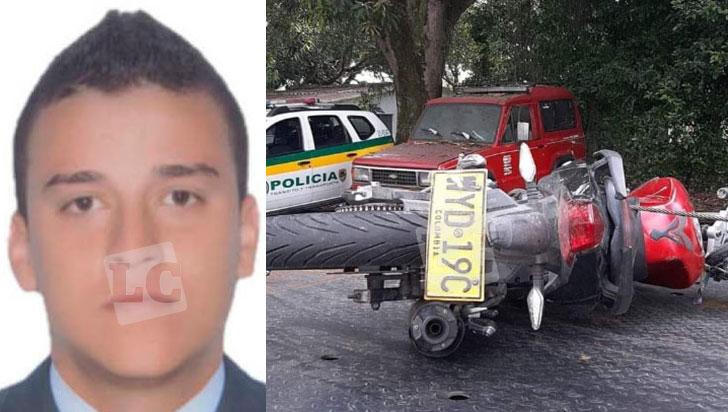 Jhónier Leandro Niño Ruiz, víctima mortal del accidente de tránsito cerca de Cenexpo