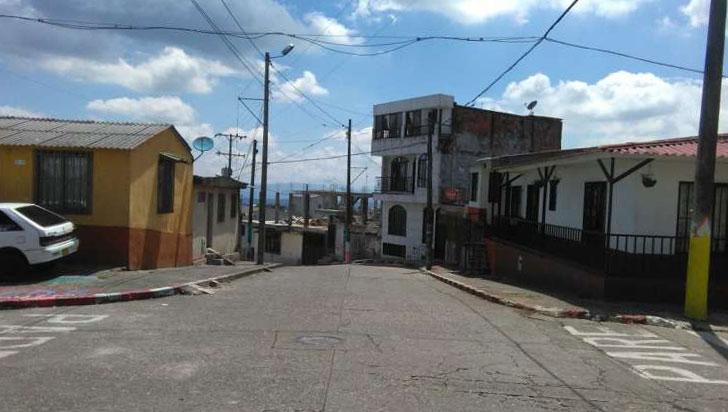 Disparos al aire en el barrio La Miranda de Armenia