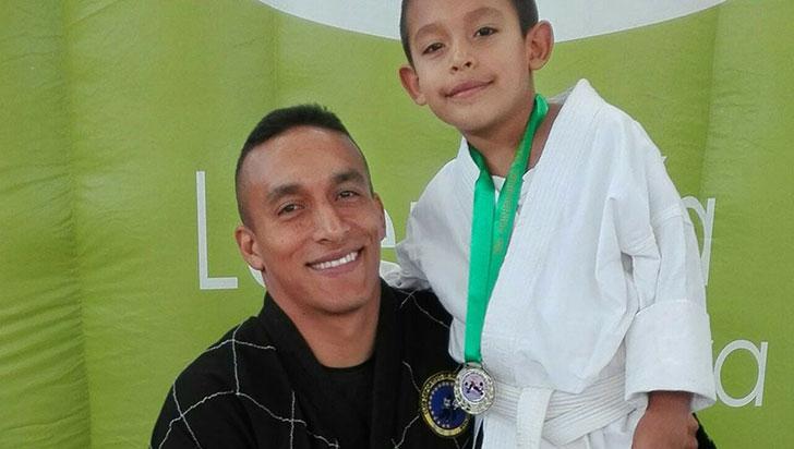 Carlos Zorrilla Aguirre, el hombre del hapkido en el departamento