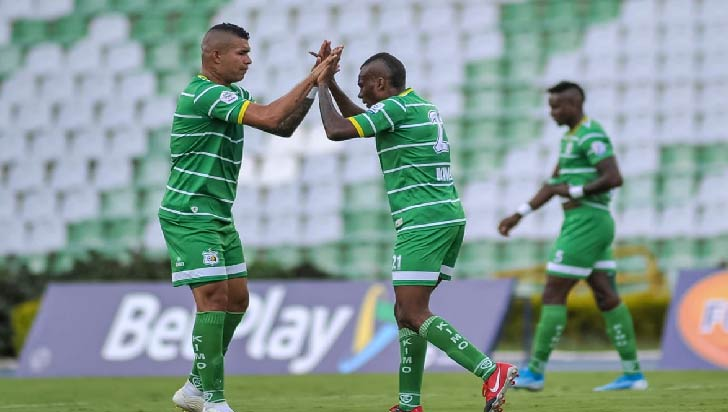Deportes Quindío perdió 1-2 frente a Valledupar FC