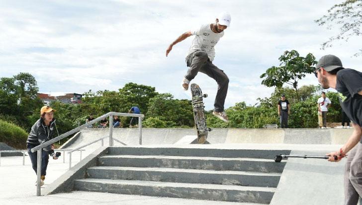 En Filandia se llevó a cabo la recuperación del skatepark