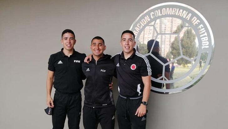 4 árbitros quindianos recibieron credenciales de la Federación Colombiana de Fútbol