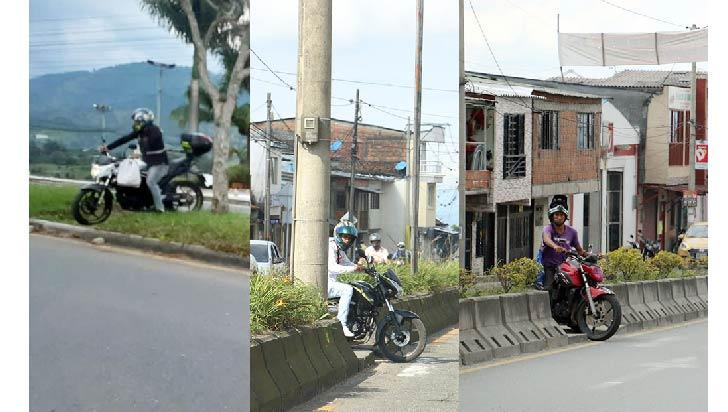 Un llamado a los motociclistas a respetar las normas viales para cuidar vidas