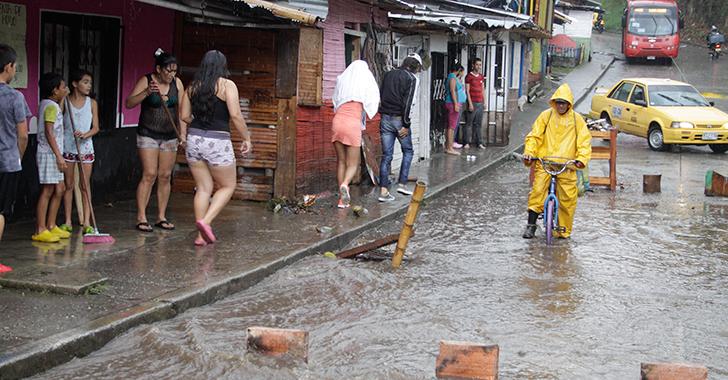 Lluvias generaron inundaciones en el sur de Armenia