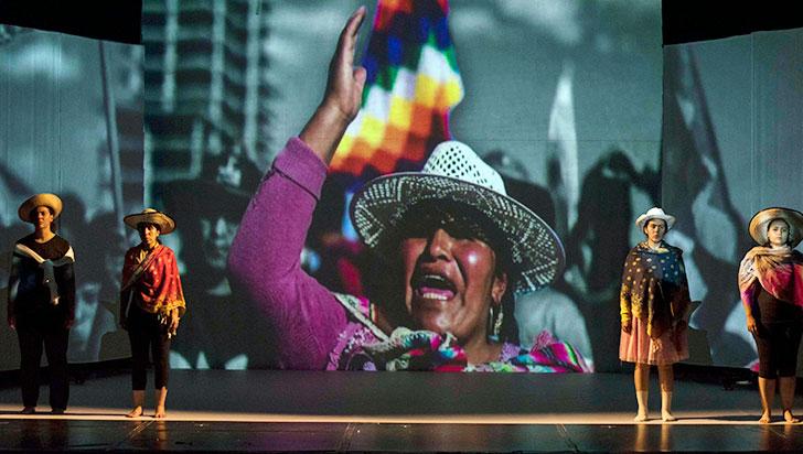 Con la nueva obra Dignidad, Teatro Azul abre sus puertas al público
