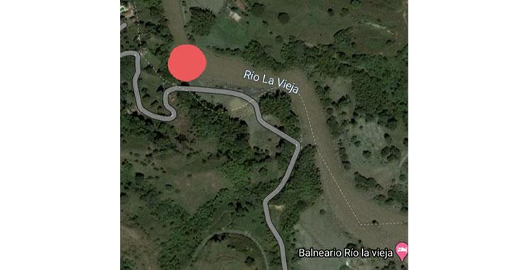 Hombre de 25 años, desaparecido en el río De la Vieja