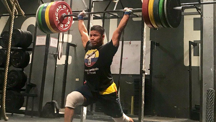 Yoni Ándica estará en el iberoamericano de levantamiento de pesas