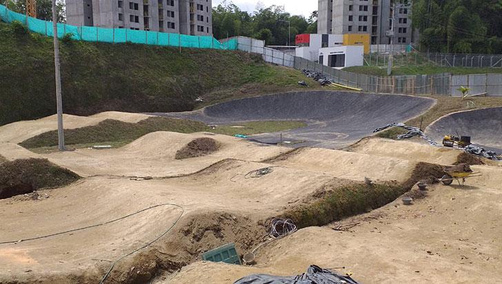 Pista de BMX de Armenia no cumple con requisitos para albergar juegos nacionales