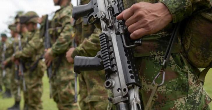 Al menos 250 desplazados por combates entre el Ejército y disidencias de farc
