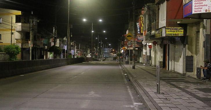 Toque de queda y ley seca en Armenia desde las 8 p. m.