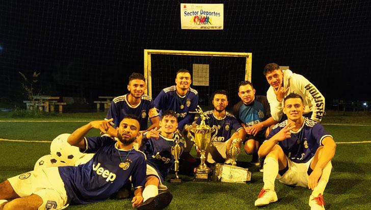 Atlético Filandia campeón del torneo de microfútbol