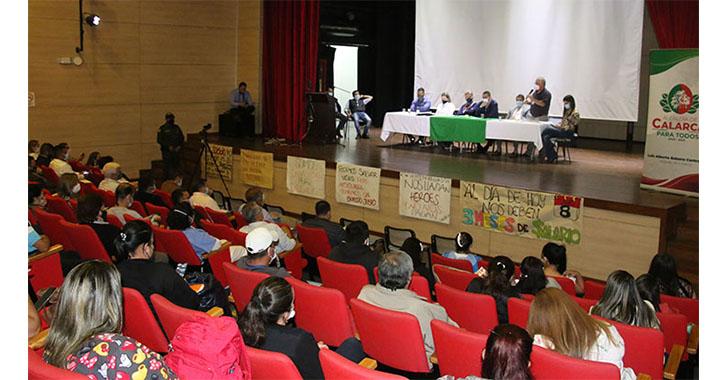 Alcaldía de Calarcá le adelantará $200 millones a La Misericordia