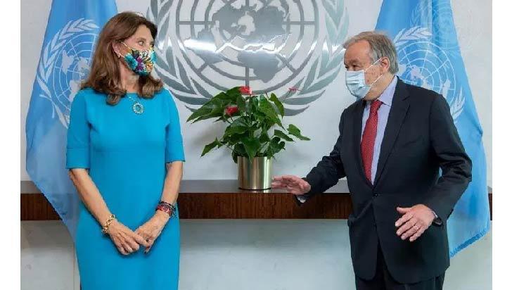 ONU defiende el acuerdo de paz como vía para resolver tensiones en Colombia