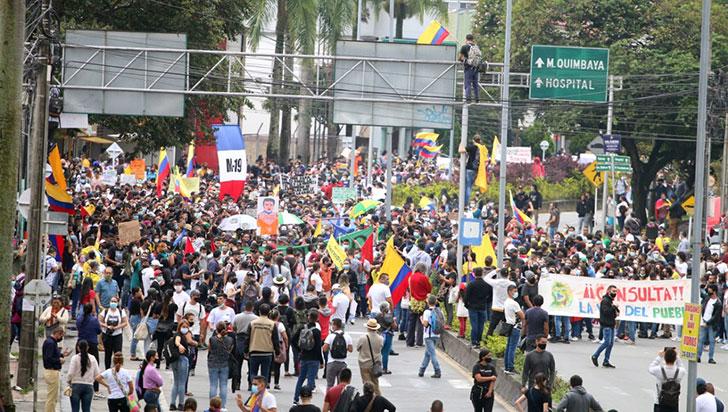 Colombia se alista para nueva jornada de protestas en el Día de la Indepencia