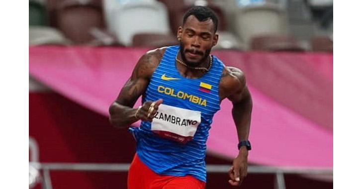 Anthony Zambrano luchará en la final olímpica de 400 metros planos
