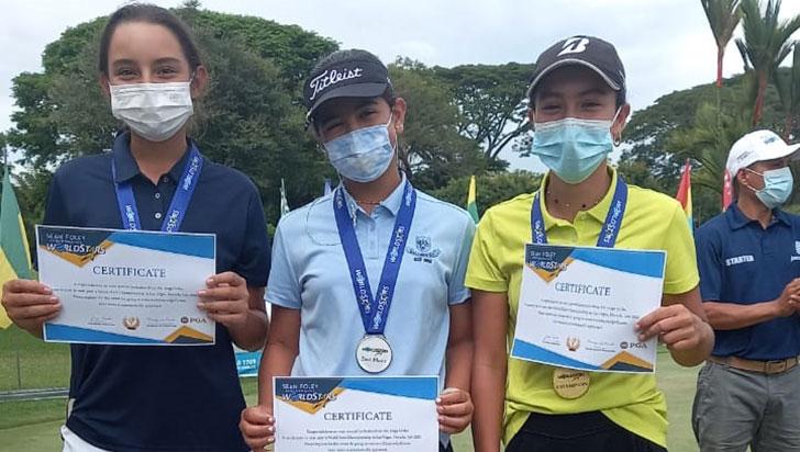 Golfista quindiana se destaca en torneo internacional