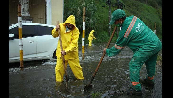 Soluciones para evitar inundaciones en sector La Estación