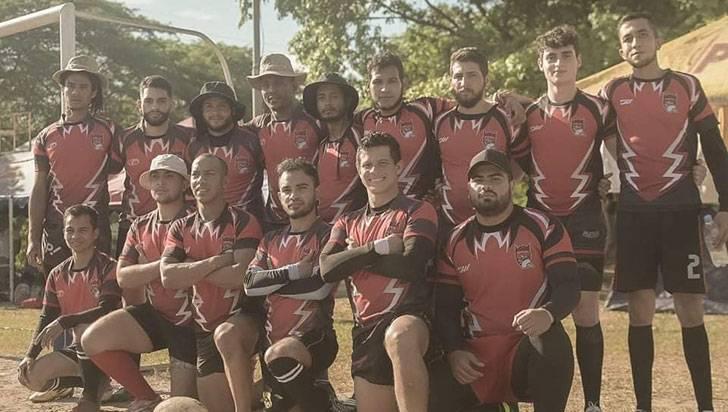 Bárbaros actuó en el Torneo de Rugby 'La Chivatera'