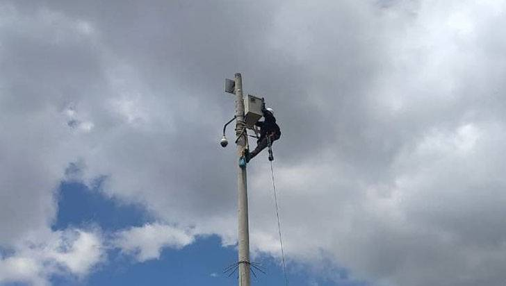 8 cámaras de seguridad para vigilar 11 municipios quindianos