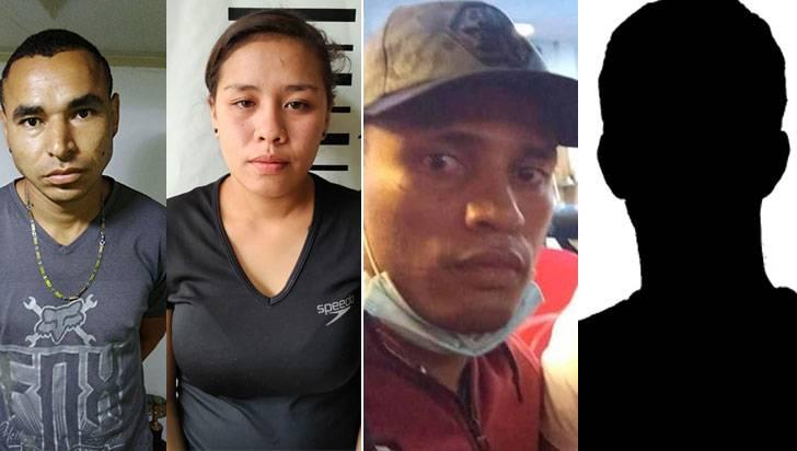 Capturados por planear asesinato en el barrio La Vieja Libertad