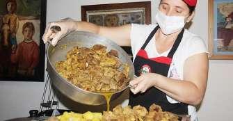 Sudado montañero,  postulado como plato tradicional quindiano