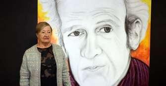 En Circasia, mural rindió homenaje  al poeta Noel