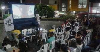 Cine Bajo las Estrellas volvió este año con nuevo escenario