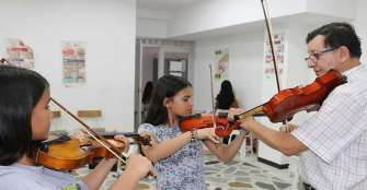 Con proyecto de música, Calarcá sueña con tener el primer conservatorio