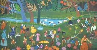 Los niños y niñas en la obra artística de Olga de Chica