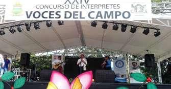 Al ritmo de merengue y corrido se eligieron las Voces del Campo