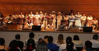 Niños quindianos pusieron en el escenario experiencias artísticas, culturales y educativas
