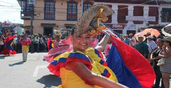 1.000 participantes en Carnaval de la Libertad