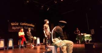 En Armenia, cinco colegios se tomaron el teatro