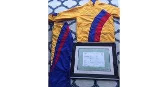 Andica donó sudadera y diploma de Olímpicos 2008 a museo del deporte