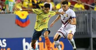 Colombia iniciará camino a mundial de Catar ante Venezuela