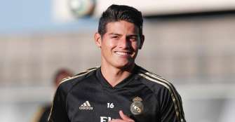 James Rodríguez, de nuevo fuera de convocatoria de Zidane