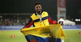 El atleta Mauricio Ortega, el clasificado número 24 de Colombia a Tokio 2020