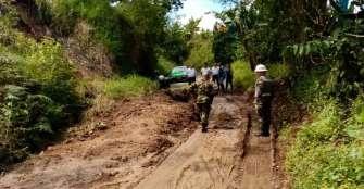 Municipio de Pijao, incomunicado por derrumbes